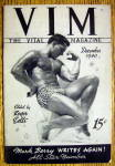 Click to view larger image of The Vital Magazine-December 1940-Herbert Marquardt VIM (Image1)