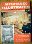 Click here to enlarge image and see more about item 14003: Mechanix Illustrated-November 1954-Basement Playroom