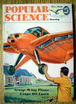 Click to view larger image of Popular Science-October 1949-Scoop Wing Plane (Image1)
