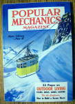 Click here to enlarge image and see more about item 14036: Popular Mechanics-April 1956-Alpine Cableway