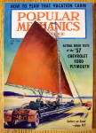 Click here to enlarge image and see more about item 14043: Popular Mechanics-January 1957-Plan Vacation Cabin