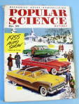 Popular Science-December 1954-1955 Auto Show
