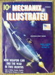 Click here to enlarge image and see more about item 14101: Mechanix Illustrated August 1942 Airacobra Fighter