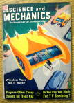 Click here to enlarge image and see more about item 14116: Science & Mechanics February 1951 Wingless Plane