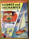 Click here to enlarge image and see more about item 14118: Science and Mechanics August 1954 Speedy Scow Sailer