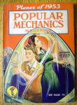 Popular Mechanics October 1943 Planes Of 1953