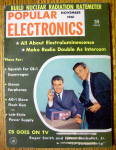 Popular Electronics November 1961 CB Goes On TV