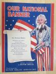 Click to view larger image of 1942 Our National Banner Sheet Music  (Image2)