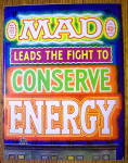 Mad Magazine #168 July 1974 Fight To Conserve Energy