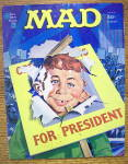 Click here to enlarge image and see more about item 14539: Mad Magazine #185 September 1976 For President