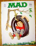 Click to view larger image of Mad Magazine #134 April 1970 Alfred Neuman In A Tire (Image1)