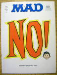 Mad Magazine #147 December 1971 NO!