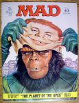 Click to view larger image of Mad Magazine #157 March 1973 Planet Of The Apes (Image1)