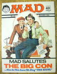 Click to view larger image of Mad Magazine #171 December 1974 The Big Con (Image1)