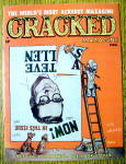 Cracked Magazine #34 February 1963 Steve Allen