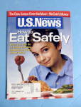 Click here to enlarge image and see more about item 14623: U.S. News & World Magazine May 28, 2007 Eat Safely