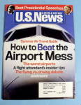 Click here to enlarge image and see more about item 14624: U.S. News & World Magazine June 18, 2007 Airport Mess