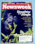 Newsweek Magazine August 6, 2007 Slaughter In Jungle