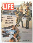 Click to view larger image of Life Magazine June 16, 1967 The Israeli Onslaught (Image1)