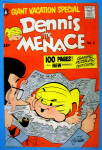 Click here to enlarge image and see more about item 14733: Dennis the Menace Comic Cover #2 1956