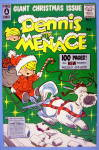Dennis the Menace Comic Cover #5 1957 Christmas Cover