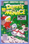 Click to view larger image of Dennis the Menace Comic Cover #5 1957 Christmas Cover (Image2)