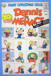 Dennis the Menace Comic Cover #6 1958 Christmas Cover
