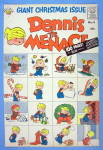 Click to view larger image of Dennis the Menace Comic Cover #6 1958 Christmas Cover (Image2)