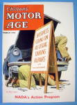 Click to view larger image of Motor Age Magazine Cover-March 1955-Hook (Image1)