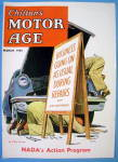 Click to view larger image of Motor Age Magazine Cover-March 1955-Hook (Image2)