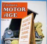 Click to view larger image of Motor Age Magazine Cover-March 1955-Hook (Image3)
