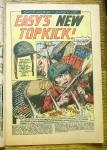 Click to view larger image of Our Army at War Comic #142 May 1964 Easy's New Topkick (Image4)