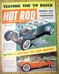 Click here to enlarge image and see more about item 14794: Hot Rod Magazine March 1959 Show Rod & Road Rod