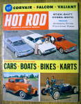 Click here to enlarge image and see more about item 14796: Hot Rod Magazine February 1960 Cars, Boats, Bikes