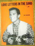 Click to view larger image of 1931 Love Letters In The Sand By Pat Boone (Image1)