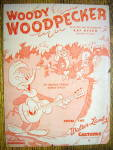 Click to view larger image of Sheet Music for 1947 Woody Woodpecker By Kay Kyser (Image1)