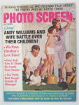 Photo Screen Magazine October 1970 Andy Williams & Wife