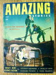 Click here to enlarge image and see more about item 15010: Amazing Stories Magazine May 1954 Little TIn Soldier