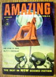 Click here to enlarge image and see more about item 15011: Amazing Stories Magazine September 1954 No Star Is Safe