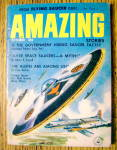 Click here to enlarge image and see more about item 15022: Amazing Stories Magazine October 1957 The Aliens