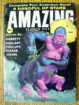 Click here to enlarge image and see more about item 15023: Amazing Stories Magazine June 1959 Poul Anderson Novel