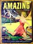 Click here to enlarge image and see more about item 15041: Amazing Stories Magazine July 1954 Manhattan Miracle