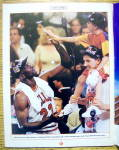 Click to view larger image of Sports Illustrated 1996-1997 Chicago Bulls NBA Champs (Image3)
