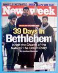 Newsweek Magazine-May 20, 2002-39 Days In Bethlehem
