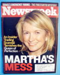 Newsweek Magazine-July 21, 2002-Martha's Mess