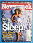Click to view larger image of Newsweek Magazine-July 15, 2002-Why We Can't Sleep (Image1)