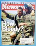 Newsweek Magazine-April 7, 2003-How Bloody?