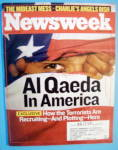 Click to view larger image of Newsweek Magazine-June 23, 2003-Al Qaeda In America (Image1)