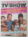 TV Radio Show Magazine September 1970 Glen Campbell