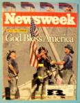Click to view larger image of Newsweek Magazine-September 24,2001-God Bless America (Image1)